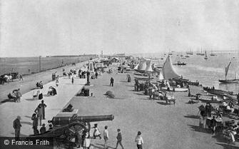 Southsea, the Seafront 1892