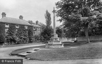 Southwell, War Memorial 1924