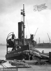 Southwick, A Tug c.1955
