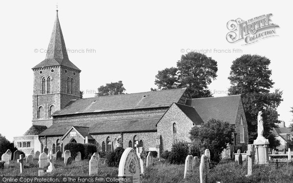 Southwick, St Michael's Church c1955