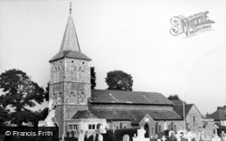 Southwick, Church Of St Michael And All Angels c.1955