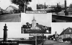 Southwick, Composite c.1955