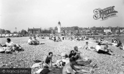 Southwick, The Beach c.1960