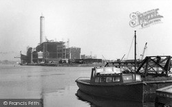 Southwick, The Harbour And New Power Station c.1955