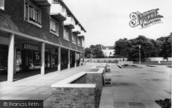Southwick, The Shopping Precinct c.1965