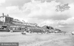 Beach And Cliffs c.1955, Southwold