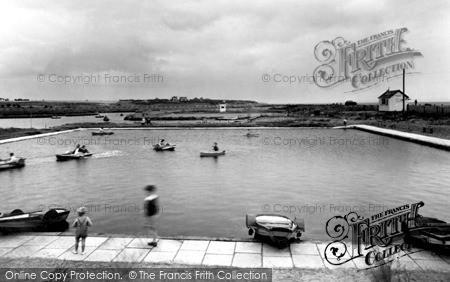 Photo of Southwold, Boating Lake c1955
