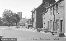 Southwold, Church Green c.1950