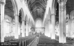 Southwold, Church Interior 1891