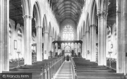Southwold, Church Nave 1896