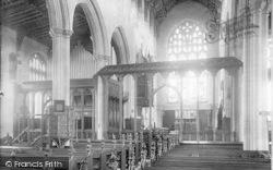 Southwold, Church Screen 1893