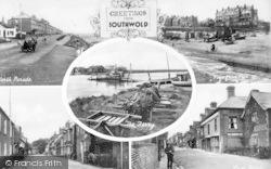 Southwold, Composite c.1910