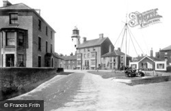 East Green And The Lighthouse 1893, Southwold