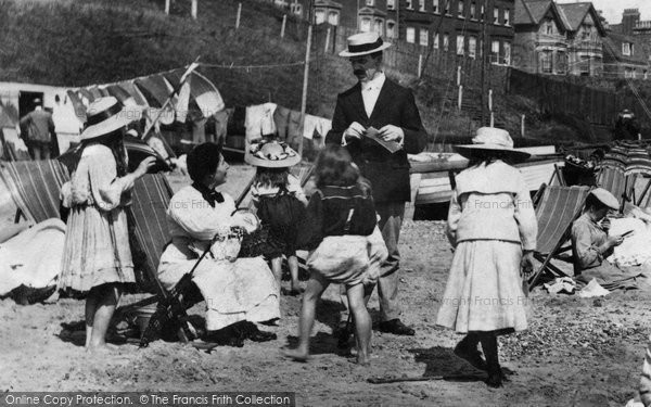 Southwold, Family On The Beach 1906