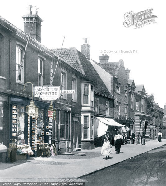 Southwold, High Street 1896