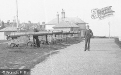 Southwold, Men And Cannons, Gun Hill 1891