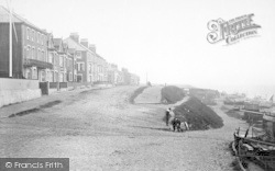 Southwold, North Cliff 1892