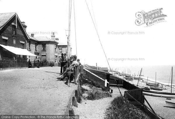 Photo of Southwold, North Cliff 1893