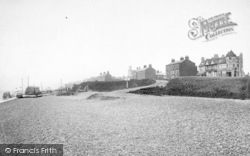 Southwold, North Cliff From The Beach 1892