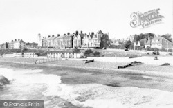 North Parade From The Pier c.1955, Southwold