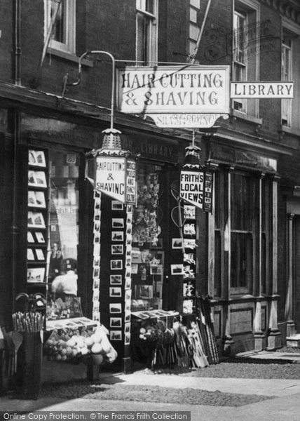 Photo of Southwold, Shop in High Street 1896, ref. 38628v