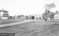 South Green c.1955, Southwold
