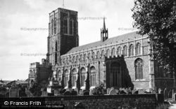 St Edmund's Church 1950, Southwold