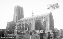 Southwold, St Edmund's Church c.1900