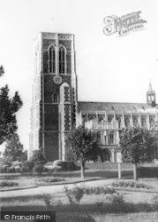 St Edmund's Church c.1965, Southwold