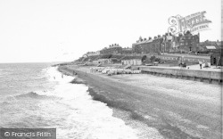 Southwold, The Beach c.1950