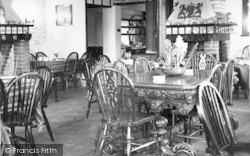 The Dutch Barn Restaurant Interior c.1955, Southwold