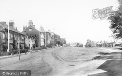Southwold, The Green 1906