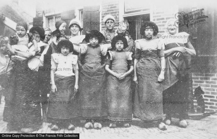 Photo of Spakenburg, People In Traditional Costume c.1930