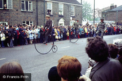 Spalding, The Flower Parade, Penny Farthings 1978