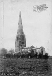 Spaldwick, St James' Church 1906