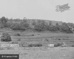 Cadbury Camp c.1955, Sparkford