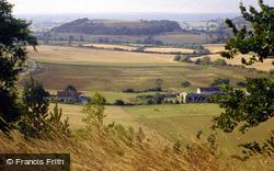Cadbury Castle Hill Fort And Whitcombe Farm c.1990, Sparkford