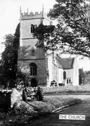 The Church c.1955, Sparkford