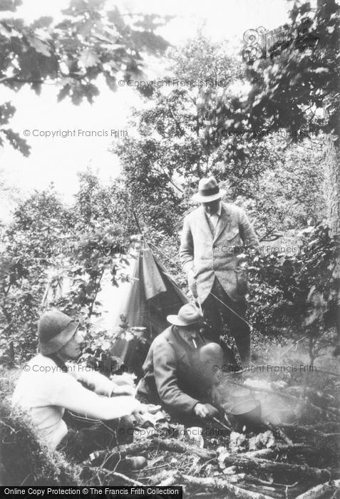Photo of A Camping Trip c.1910
