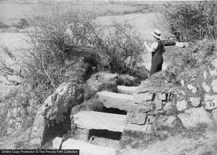 Photo of A Cornish Stile c.1890