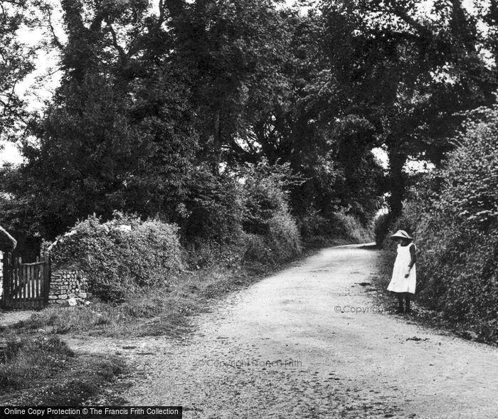 Photo of A Country Lane 1912