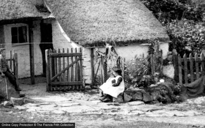 Photo of A Devonshire Cottage 1909