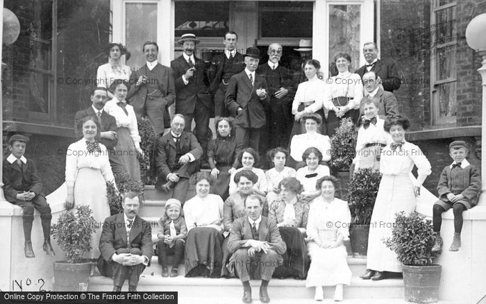 Photo of A Family Gathering c.1912
