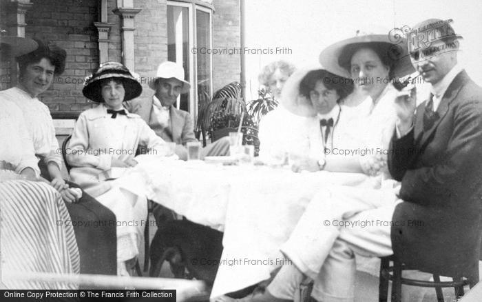 Photo of A Family Lunch c.1912