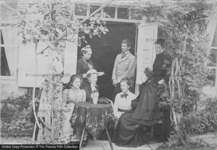Photo of A Family Occasion c.1880