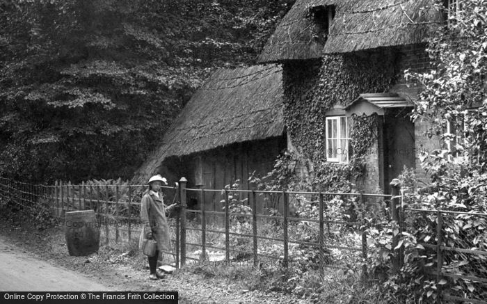 Photo of A Hampshire Cottage 1917