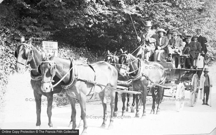Photo of A Horse And Carriage c.1912
