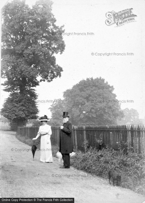 Photo of A Smart Couple c.1912