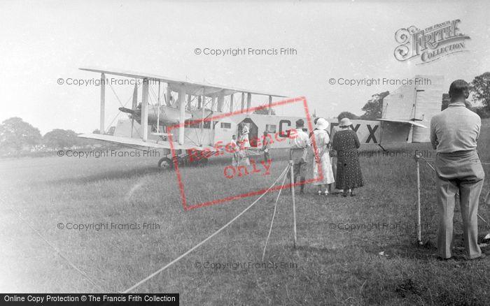 Photo of Aeroplane c.1935