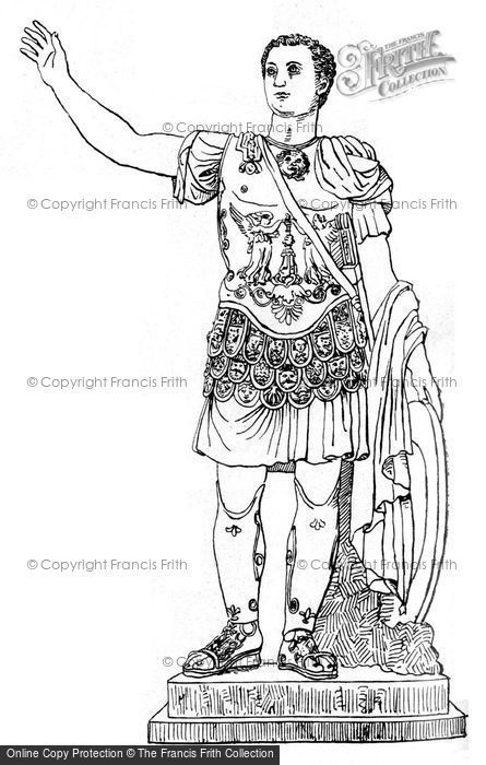 Photo of Artist's Impression Of A Marble Statue Of Titus In Armour In